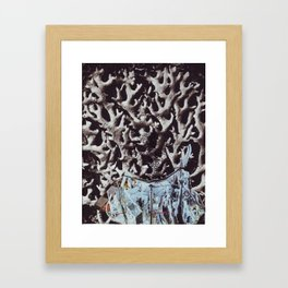 Coral Space Framed Art Print