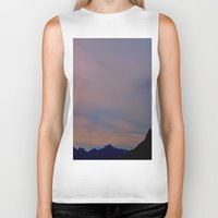 spanish Biker Tanks featuring spanish skies by ginaspinelli