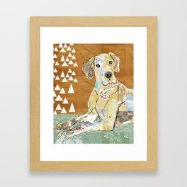 Great Dane Collage  Framed Art Print