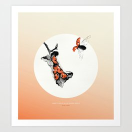[9.28—10.02] Insects Hole Up in Winter Nests Art Print
