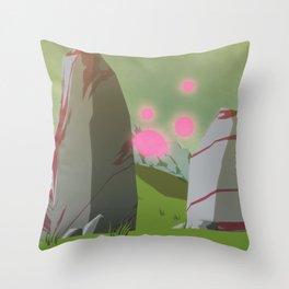 Day 0424 /// Toofar, travel Throw Pillow