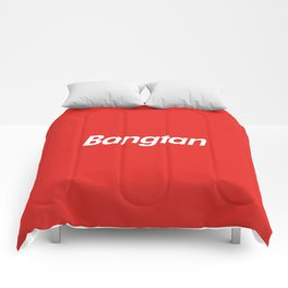 BTS Bangtan Box Logo Comforters