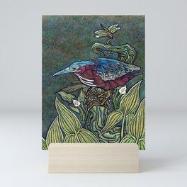 Green Heron Mini Art Print