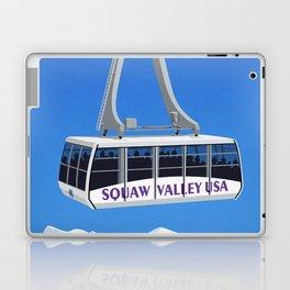 Squaw Valley Ski Resort ,LakeTahoe , California Laptop & iPad Skin