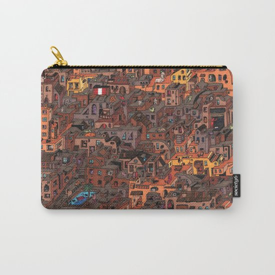 Gold Favela Carry-All Pouch