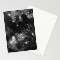Galaxy B&W Stationery Cards