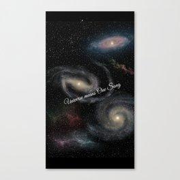 Universe Canvas Print
