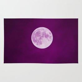 Pink Moon Dust Rug