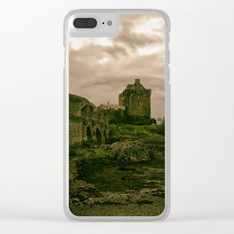 Eilean Donan Castle, Kyle of Lochalsh, Scotland Clear iPhone Case