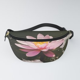 Pink Water Lily  Fanny Pack