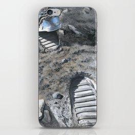 Footprints iPhone Skin