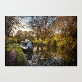 An Autumn Afternoon At Hungerford Canvas Print