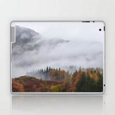Rain clouds sweeping through the mountains near Blea Tarn. Cumbria, UK. Laptop & iPad Skin