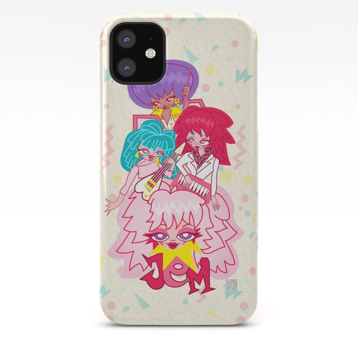 Jem and the Holograms iphone case