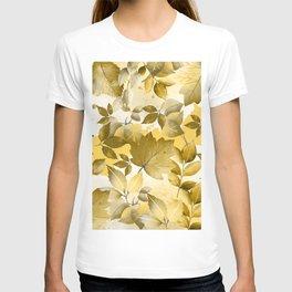 Watercolor Autumn Leaves 10 T-shirt
