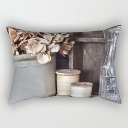 Vintage Vignette Rectangular Pillow