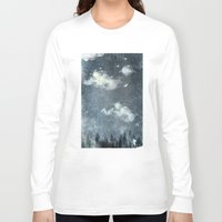 cloud Long Sleeve T-shirts featuring The cloud stealers by HappyMelvin