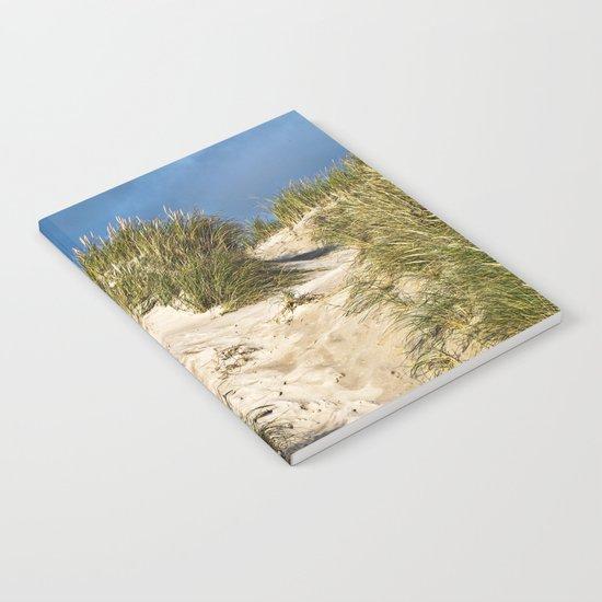 Scandinavian Sand Dune of Henne in Denmark Notebook