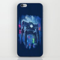 robot iPhone & iPod Skins featuring Impressionist Robot by Dan Burgess