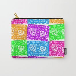 Day of the Dead Sugar Skull Papel Picado Flags Carry-All Pouch