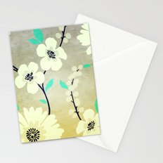 VINTAGE FLOWERS XXIX - for iphone Stationery Cards
