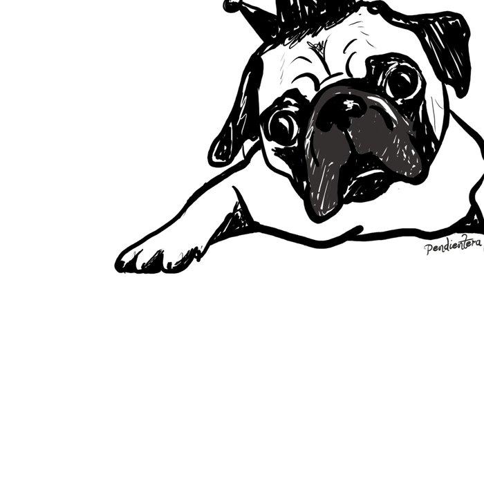 King Pug Leggings