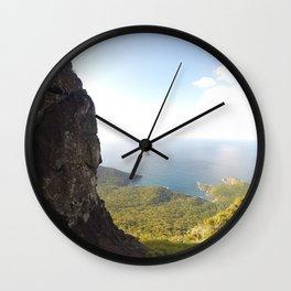 View from Mt.Lidgebird Wall Clock