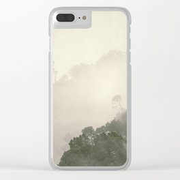 """""""Mountain light II"""".(C) Foggy forest. Clear iPhone Case"""