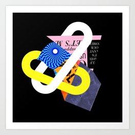 Lock 1/21/19 Art Print