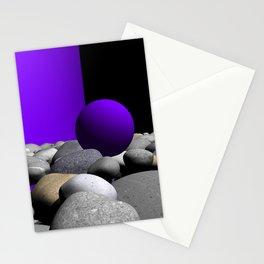 go violet -09- Stationery Cards