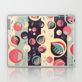 50's floral pattern II Laptop & iPad Skin