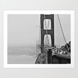 GoldenGate Bridge Art Print