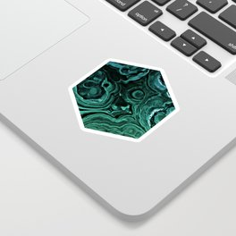 MALACHITE GREEN Sticker