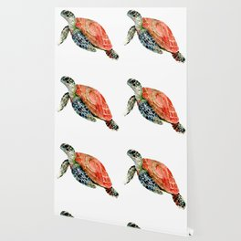 Sea Turtle, turtle art, turtle design Wallpaper