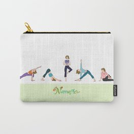 Yoga Girls_Poses_Robin Pickens Carry-All Pouch