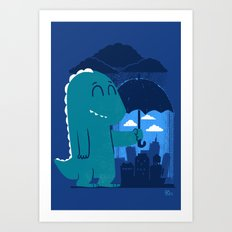 This is my city Art Print