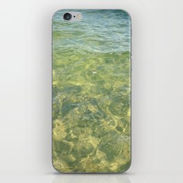water ripples iPhone Skin