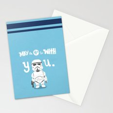 salute the troops Stationery Cards