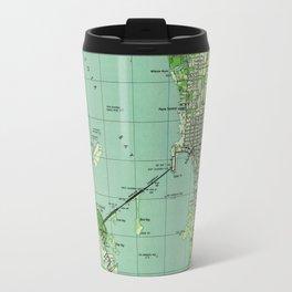 Vintage map of Sarasota Florida (1944) Travel Mug