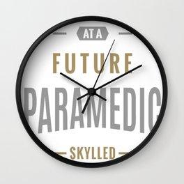 Future-Paramedic Wall Clock