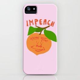 Impeach Trump iPhone Case
