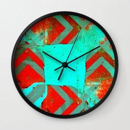 « bleu turquoise » Wall Clock