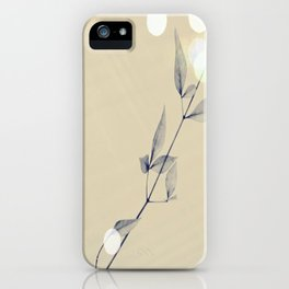 lonely leaves  iPhone Case