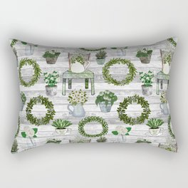 Farmhouse Botanicals Rectangular Pillow