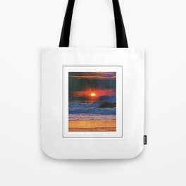 Deadly Waves Tote Bag