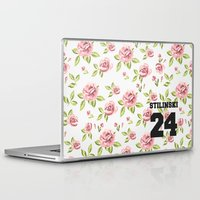 stiles stilinski Laptop & iPad Skins featuring Stilinski 24 by Indy
