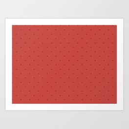 Sunset Dots Art Print