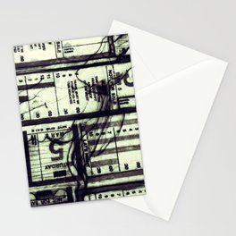 Muni Breaks Mixed Media by Faern Stationery Cards