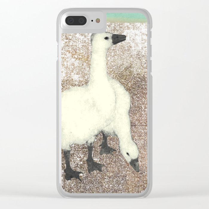 Not so wild geese Clear iPhone Case