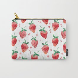 Strawberries Pow Carry-All Pouch